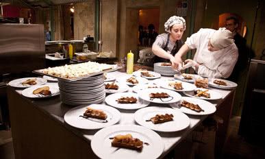 i cuochi del ristorante