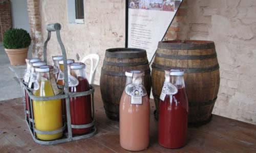 bottiglie succhi produzione km 0