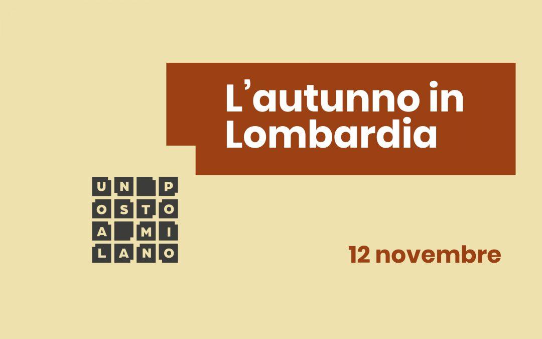 L'autunno in Lombardia | Cena a tema